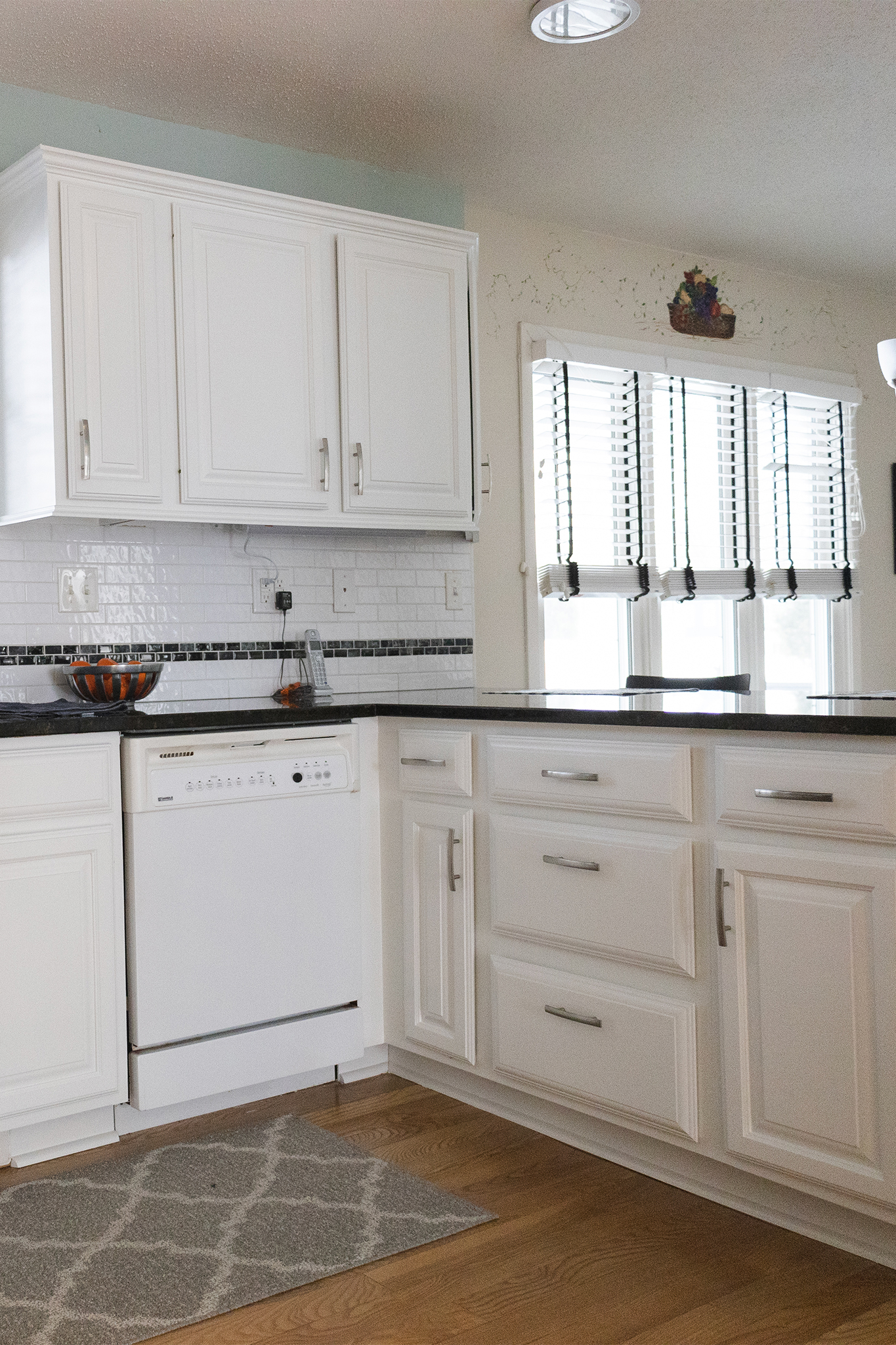 kitchen cabinet painted