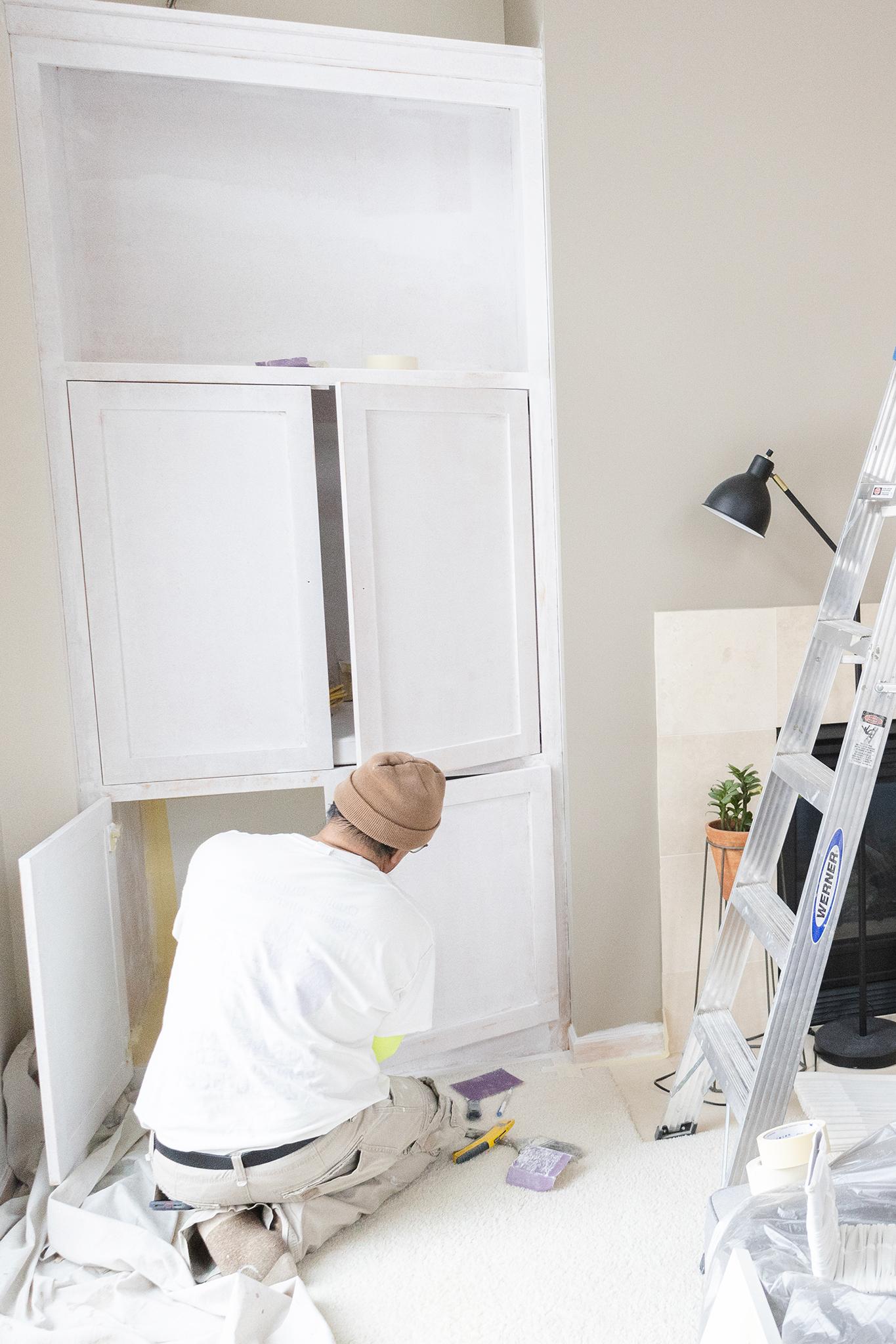 Interior Cabinet Painter