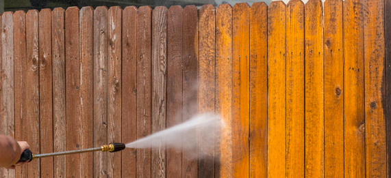 Exterior Power Wash to Clean Surface